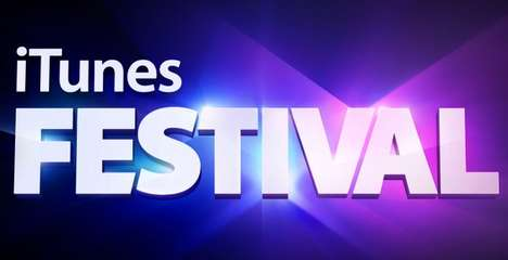 Collaborative Festival Music Apps - The iTunes Festival App Combines with SXSW to Deliver Free Music