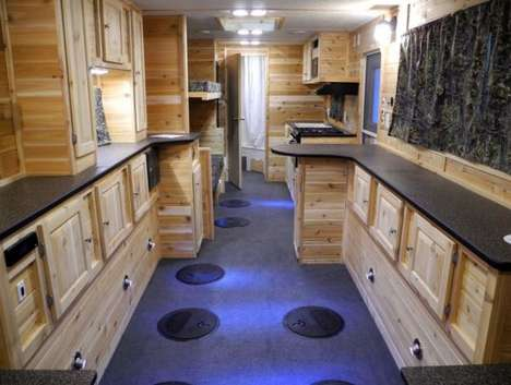 Luxurious Ice Fishing Cabins - These Cabins Show That Ice Fishing Can Be a Lavish Experience