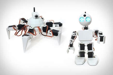 Effortless Robot-Building Kits - The EZ Robot is a DIY Project That Doesn
