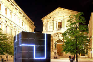 The E-QBO Power Cube Will Brighten Spaces and Charge Electronics