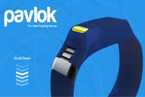 Pain-Inflicting Fitness Trackers - The Pavlok Habit Forming Device Delivers a Shock of Electricity