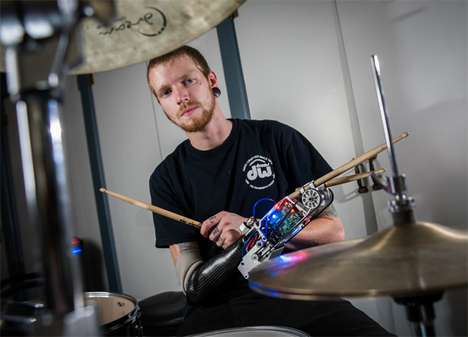 Prosthetic Musical Instruments - Prosthetic Advancements are Bringing Music Back to Amputees