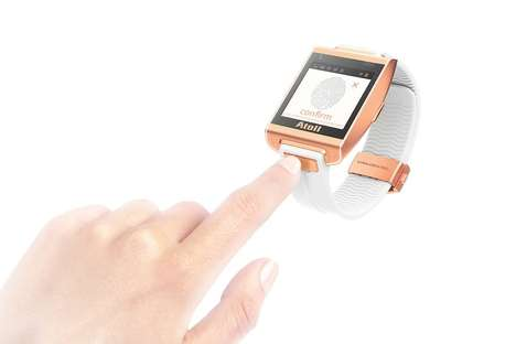 Activity-Synced Chronographs - Wave Smart Watch Interprets Circumstances to Provide Relevant Info