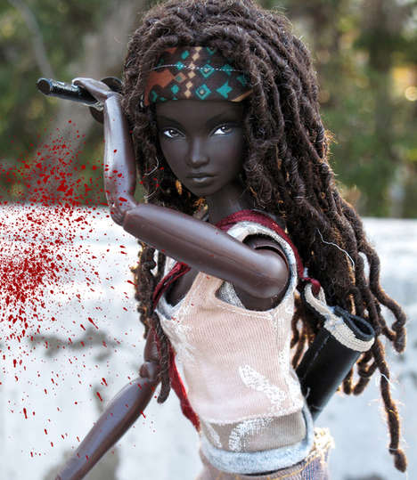 Television-Inspired Warrior Dolls - This Walking Dead Michonne Doll is Your New Favorite Barbie