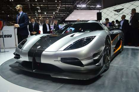 Speedy Swedish Supercars - The Koenigsegg One:1 Supercar is Frightfully Fast Yet Unbelievably Light