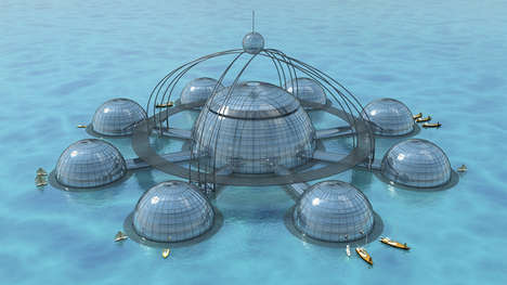Self-Sustainable Underwater Biospheres - This Underwater Biosphere Concept is Unique and Futuristic