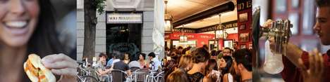 Petite Panini Shops - 100 Montaditos is a Gourmet Sandwich Shop in New York City