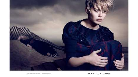 Broody Celeb Campaigns - Miley Cyrus Stuns in the Marc Jacobs Spring 2014 Campaign