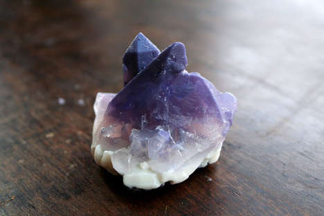 Deceptive Precious Stone Soaps - This Vegan Decorative Soap Looks Just Like an Amethyst Crystal
