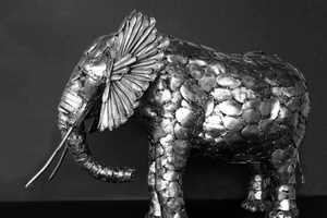 Artist Gary Hovey Creates Wildlife Out of Spoons and Forks