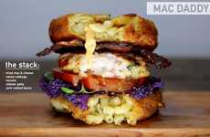 Overstuffed Gluttonous Burgers - Mathew Ramsey Uses His Passion for Burgers to Create Tasty Options