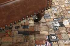 Designer Denim House Rugs