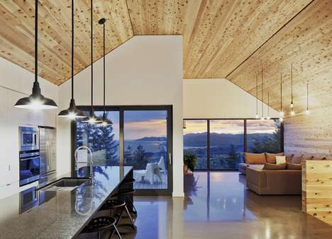 Contemporary Barn Homes - This Modern Barn Design is Calming and Warm