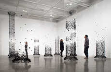 Disintegrating Charcoal Installations