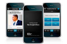 Pictures-Only News Apps - The NYT Now App Gives You the Big Picture Without Cluttered Words