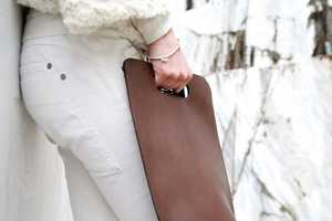 The Simple Be Leather Backpack Looks Like a Classy Clutch
