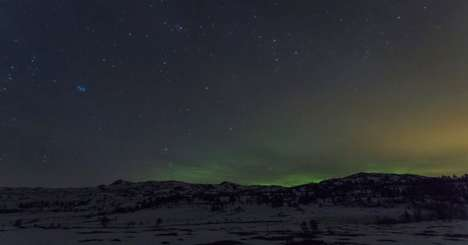 Northern Lights Timelapses - These Photos of Colorful Skies Over Norway are Radiant and Memorable