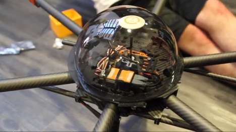 Aerial Crime Fighting Drones - The CUPID Drone Prototype Made Its Debut at the SXSW 2014 Conference