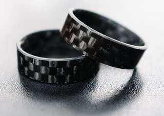 Carbon Fiber Rings - These Carbon Fiber Rings are Elegant and Eye-Catching
