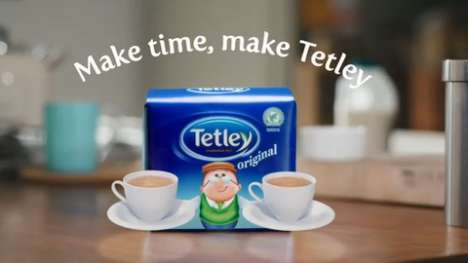 Cleverly Evolving Tea Campaigns - Tetley Tea Makes Sure It Isn