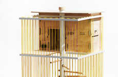 Urban Chicken Coops - This Modern Chicken Coop Helps City Dwellers Get Farm Fresh Eggs