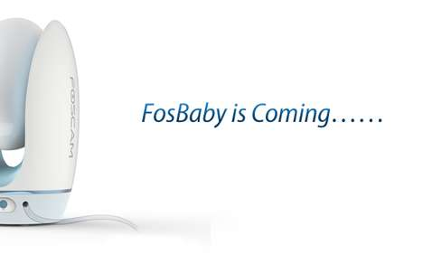Advanced Comforting Baby Monitors - The New HD Baby Monitor by Foscam is Modish and Practical