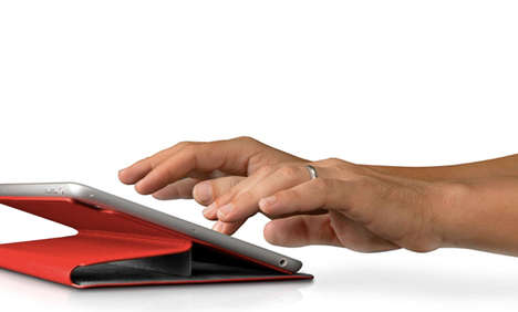 Convertible Tablet Covers - The SurfacePad Introduces Ergonomics to Your Slick Touchscreen Device