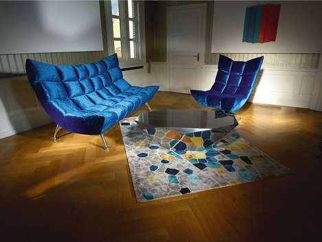 Plush Social Furniture - The Hangout Collection by Meera Leona Rathai Encourages Gatherings