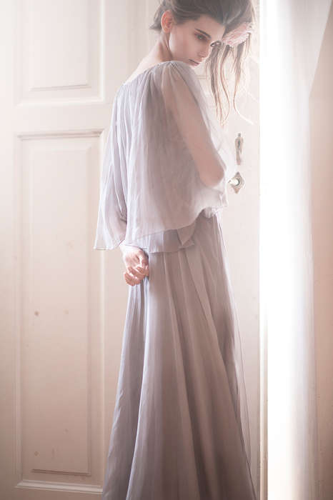 Softly Frail Photoshoots - Roses by Luca Meneghel is Full of Angelic Light and Feminine Fashion