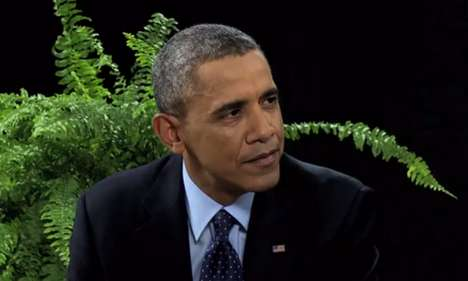 Peculiar Presidential Interviews - The Between Two Ferns Interview with Barack Obama is Hilarious