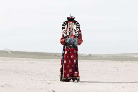 Transgender Mongolian Photography - Transmongolian by Alvaro Laiz Captures a Secluded Way of Life