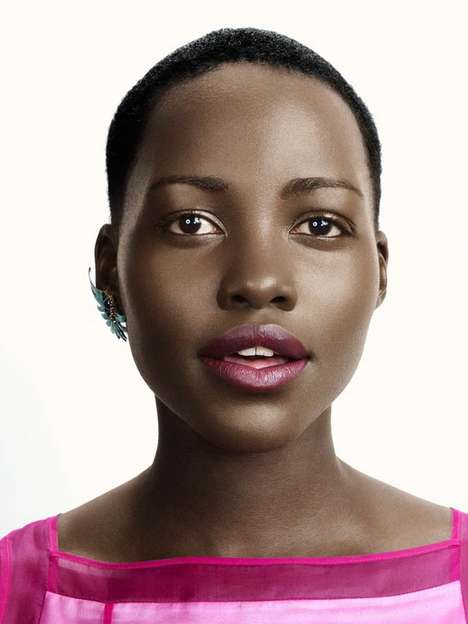 Subtly Vibrant Spring Looks - The Photoshoot Starring Lupita Nyong'o for Glamour US is Gorgeou