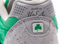 Irish Mint Green Sneakers