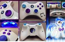 Customized Cartoon Controllers - This DeviantART Member Sells Cartoon-Inspired Custom Xbox Controlle