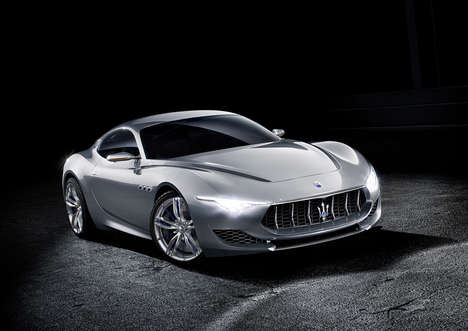 Centenary Concept Cars - The Maserati Alfieri Hints at the Future Luxury Car Designs