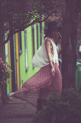 San Francisco-Infused Fashions - The Free People Spring 2014 Lookbook is a Fresh Breath of Spring