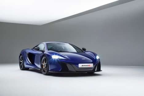 Butterfly Door Speed Cars - The McLaren 650S is Faster Than a Formula One Car Over a Quarter Mile