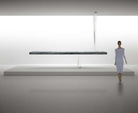 Gravity-Defying Stone Tables - The Stone Table of the Universe Frees Itself from All Gravity
