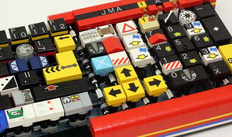 Computerized LEGO Keyboards - Jason Allemann Turns Childhood Toys into Functional Devices