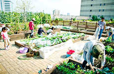 Train Commuter Gardens - The Saradofarm Scheme Lets Train Commuters Garden On-the-Go