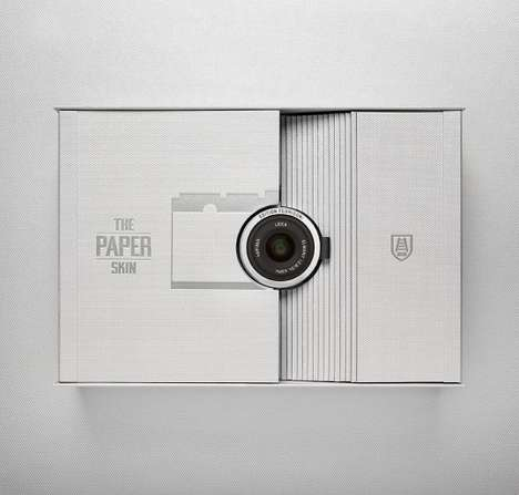 Integrated Camera Packaging - Fedrigoni Leica Uses Paper Thin Design to Combine Product with Casing