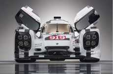 Iconic Hybrid Supercars - Porsche Has Unveiled The 919 Hybrid To Compete In The 2014 Le Mans Race