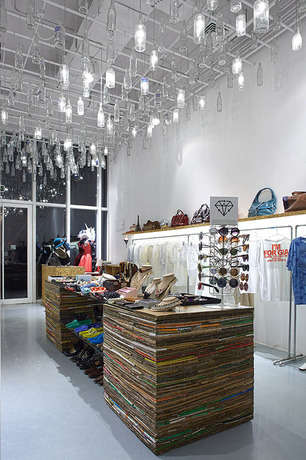 Finely Curated Thrift Stores - Trash & Diamond is a New Thrift Store in Beijing
