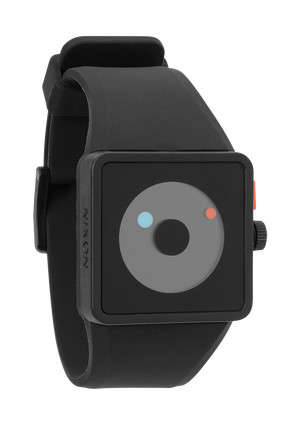 Classy Minimalist Armless Watches - The Nixon Newton Watch Brings a Bare Yet Classic Aesthetic
