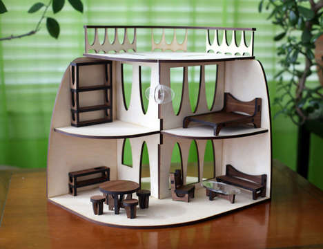 Design-Savvy Dollhouses - This Modern Dollhouse is Perfect for All Ages