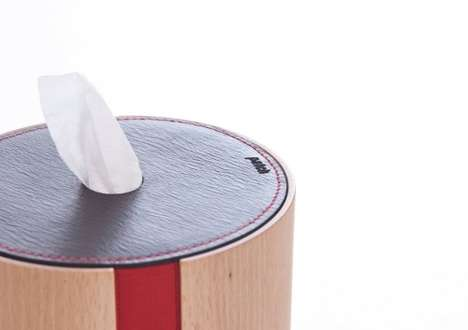 Graduated TP Containers - The Patch Paper Dispenser Brings Toilet Paper Out of the Bathroom