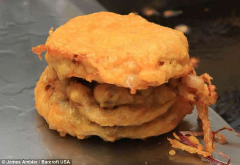 35 Dishes for Fried Food Fanatics - From Fried Macaroni Burger Buns to Battered Cheesy Snacks
