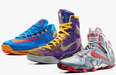 NBA Star Footwear - The Nike Basketball 2014 Elite Series Team Collection is in Time for Playoffs