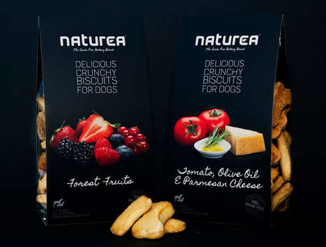 Decadent Dog Food Branding - Naturea Puts a Gourmet Spin on Its Delicious Dog Food Branding