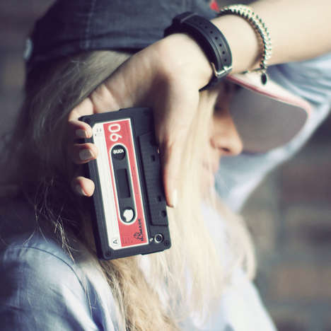 100 Accessories for Nostalgic Mobile Users - From Retro Radio Phone Docks to 90s Kid Phone Covers